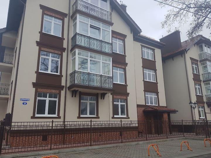 Квартира 150м от Моря в Зеленоградске