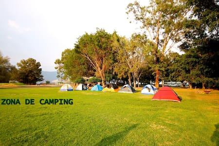 Roca Azul Cabañas y Acampar - Jocotepec - Namiot