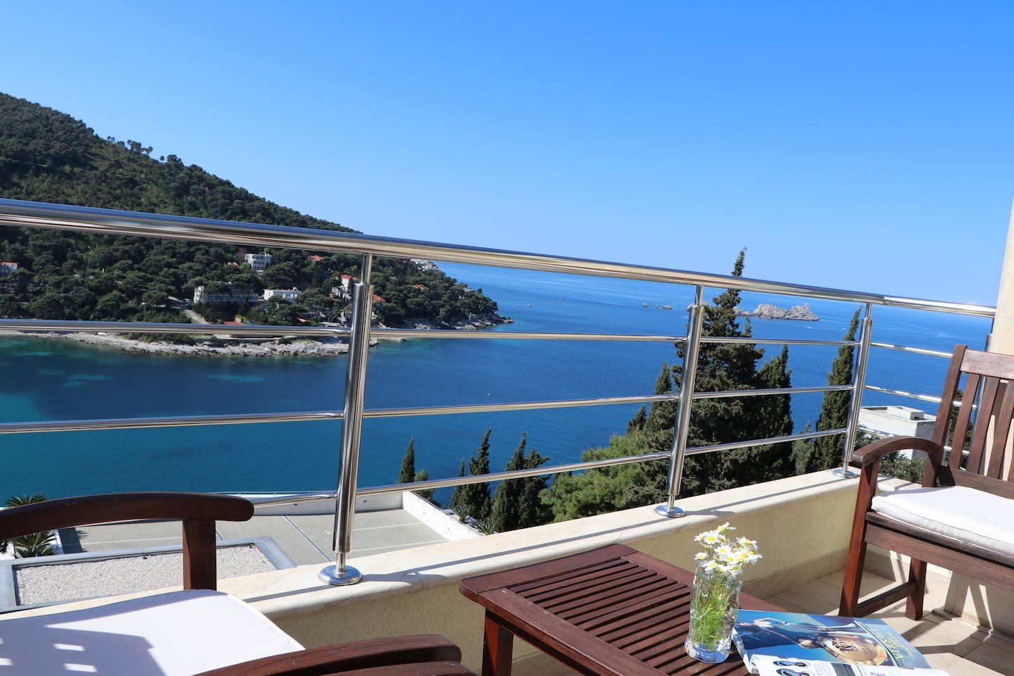 L'Heure Bleue Apartment |  Soak up the amazing views from your very own balcony!