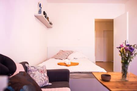 Spacious Balcony Room - Super Convenient location - Prag