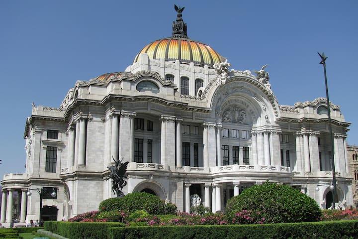 Habitación para 4 personas Centro Histórico México - Centro - Apartemen
