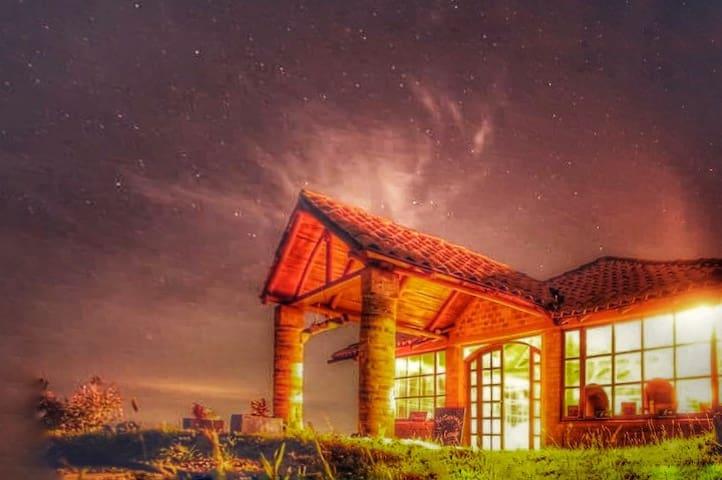 very cozy cabin