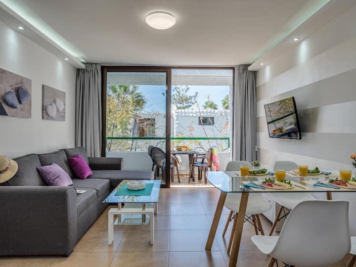 304 Super Apartment in Bungalow Playa Las Americas