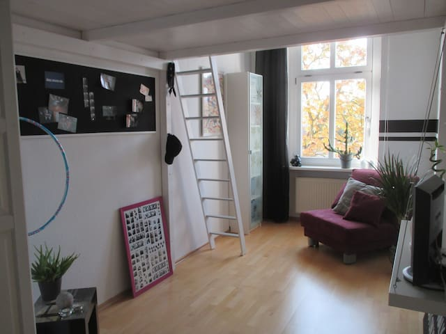 Room with own bath at Lake Tegel - Berlin - Apartment