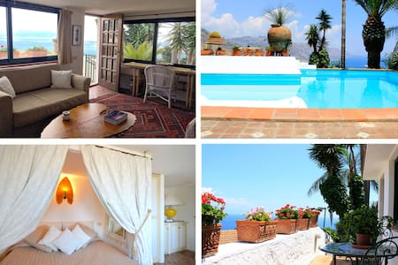 PANORAMIC SUITE  with pool & view in Taormina - Taormina
