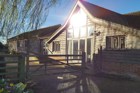 Beautiful Suffolk barn conversion. - Thelnetham  - Casa