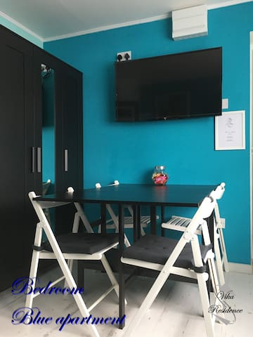 Vika Residence Wednesbury - Blue Apartment