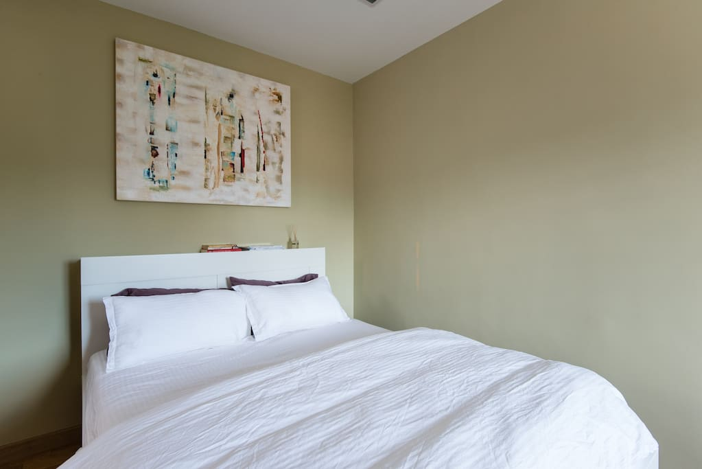 Master bedroom with natural lighting