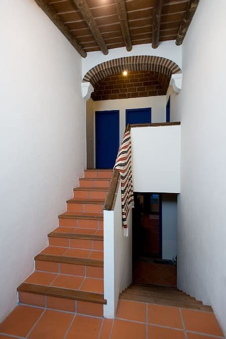 Escadas 2º Piso