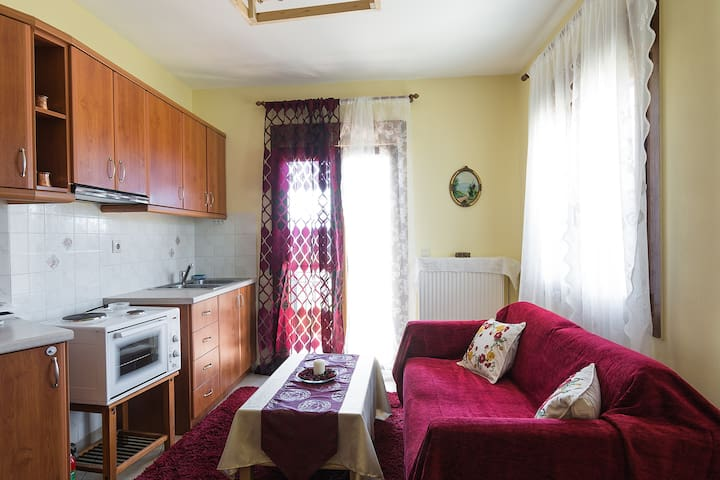 '' Νεφέλη '' Διαμέρισμα με θέα !!! - Karpenisi - Apartemen