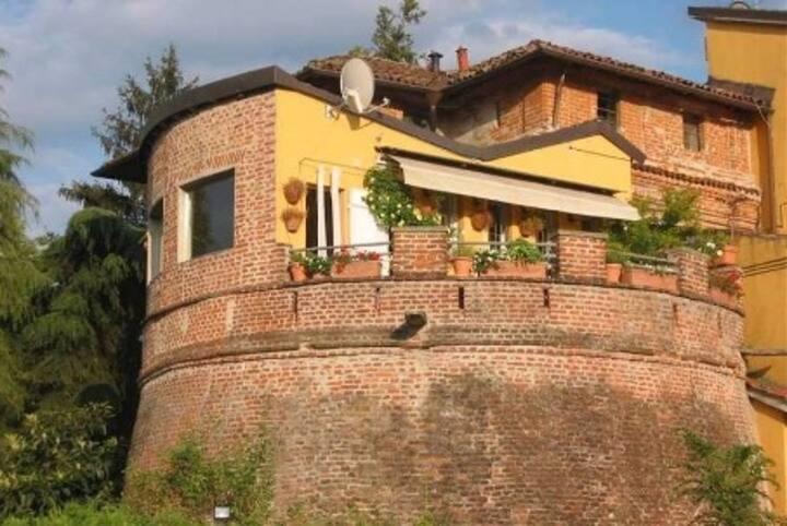 Sotto la volta del Castello Cusani Visconti