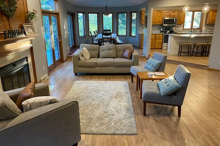 River Falls city home with amazing country views