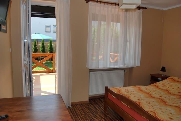 Etiuda sunny room with terrace - Władysławowo - Casa