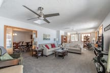 Large family vacation home with lake frontage