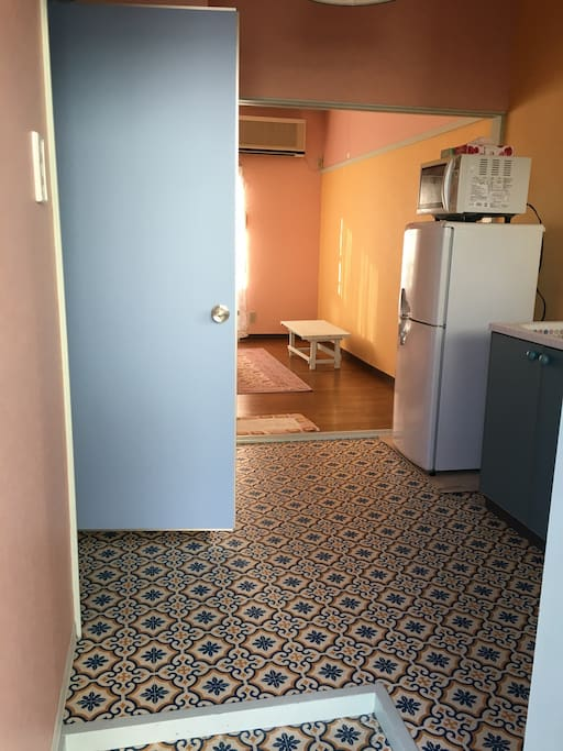 This is an entrance of your room