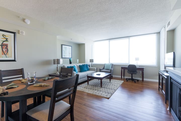 Furnished 1 BR Apt., Crystal City