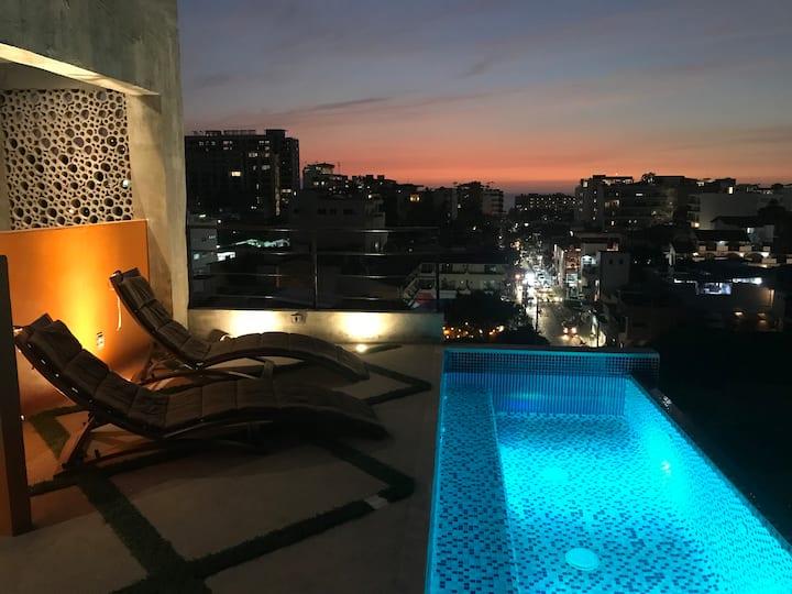 Lofts On Basilio : One Bedroom Romantic Zone 101
