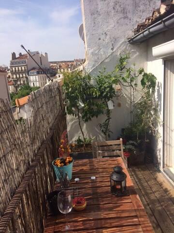 Petit cocon en plein coeur de Marseille