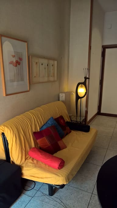 Welcome home!!! comfortable sofa for listening music...