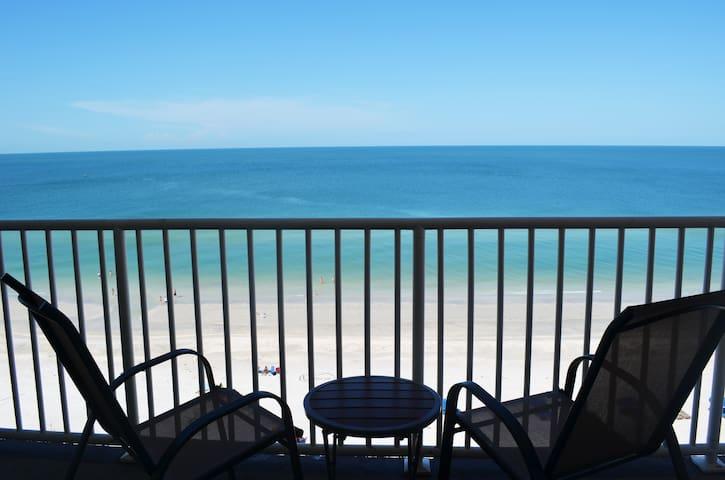 Sandcastle 1, Breathtaking 10TH floor beach views! - Indian Shores - Ortak mülk