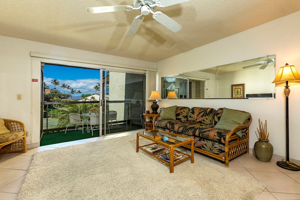 Hale Kamaole 231-Living Area