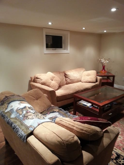 Living area to relax