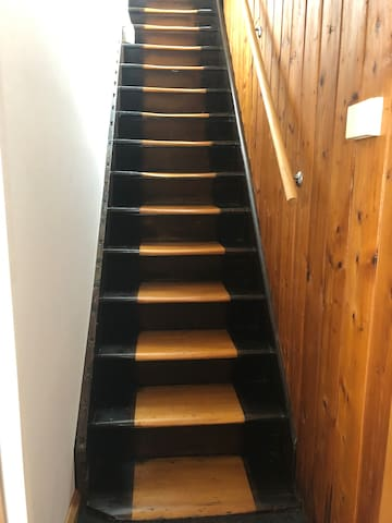 Heritage staircase from Commandants cottage Pontville. Circa 1820