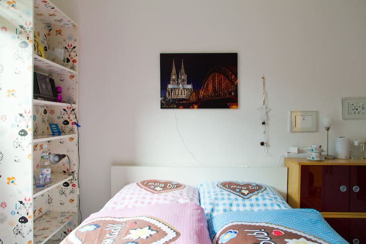 Cozy room in the heart of Cologne!
