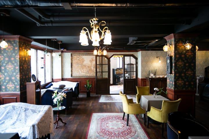 [목화호텔] 6.개화기 컨셉의 작은 호텔입니다~~^^