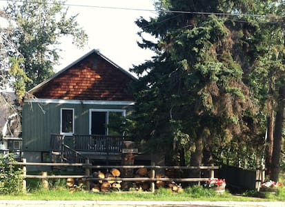Sylvan Lake Cottage *Dual Suite - 5 Bedroom* $1750 - Sylvan Lake - 小木屋