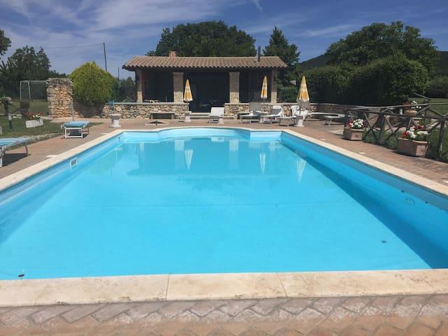 Villa Alexa in the unpoluted heart of Umbria