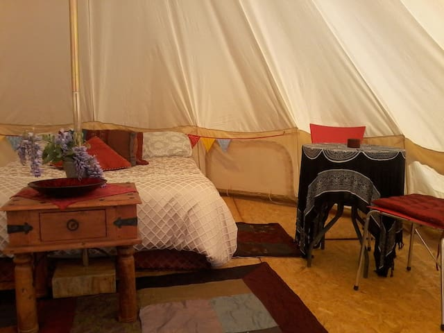 Glamping tent ~ Camp in comfort