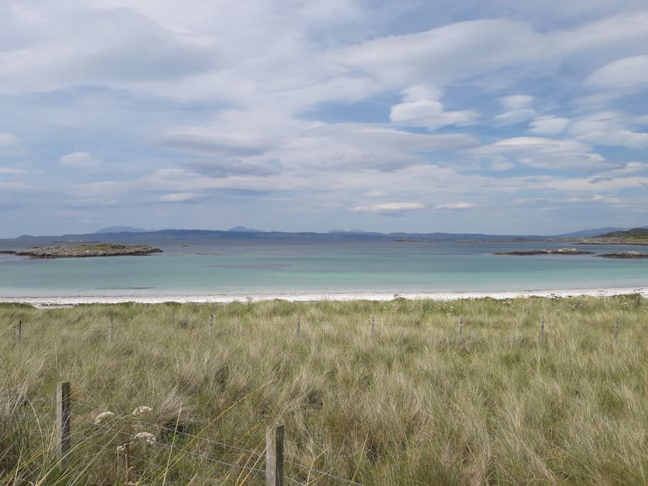 Traigh Beach ( approx 10 minute drive from Mallaig)