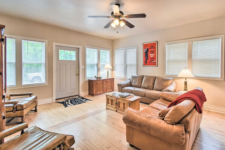 NEW! Walkable Lake Elkhart Home: Dine, Shop, Swim!