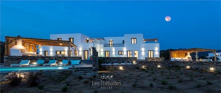 Les Thébaïdes 1, Villa sur la plage avec piscine