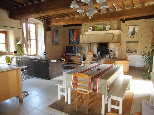 Belle maison du XVème siècle entre Vitré et Rennes - Saint-Aubin-des-Landes - House