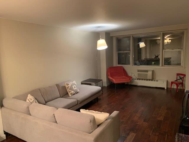 Beautiful stylish one bdrm apartment