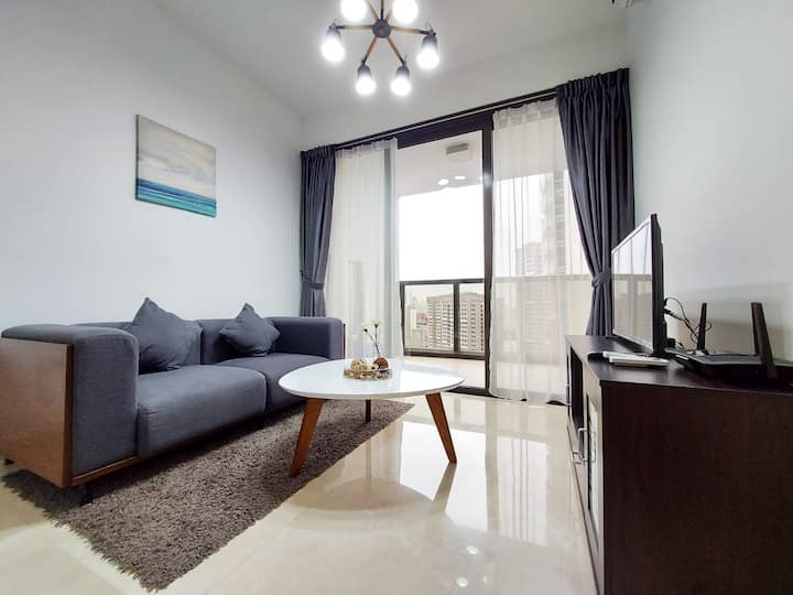 2BR Entire Apt [C] ★ 2mins walk to Queenstown MRT