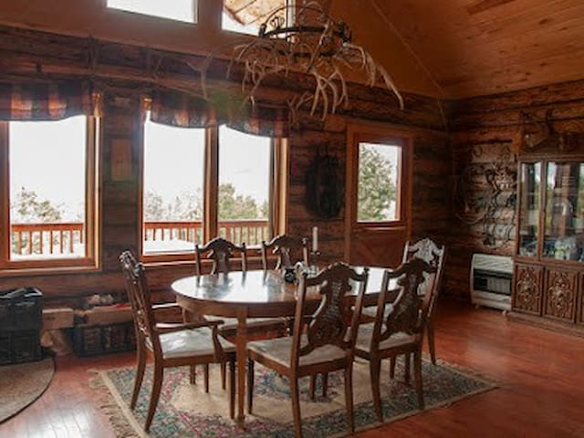 Fantastic private cabin with a world class view.