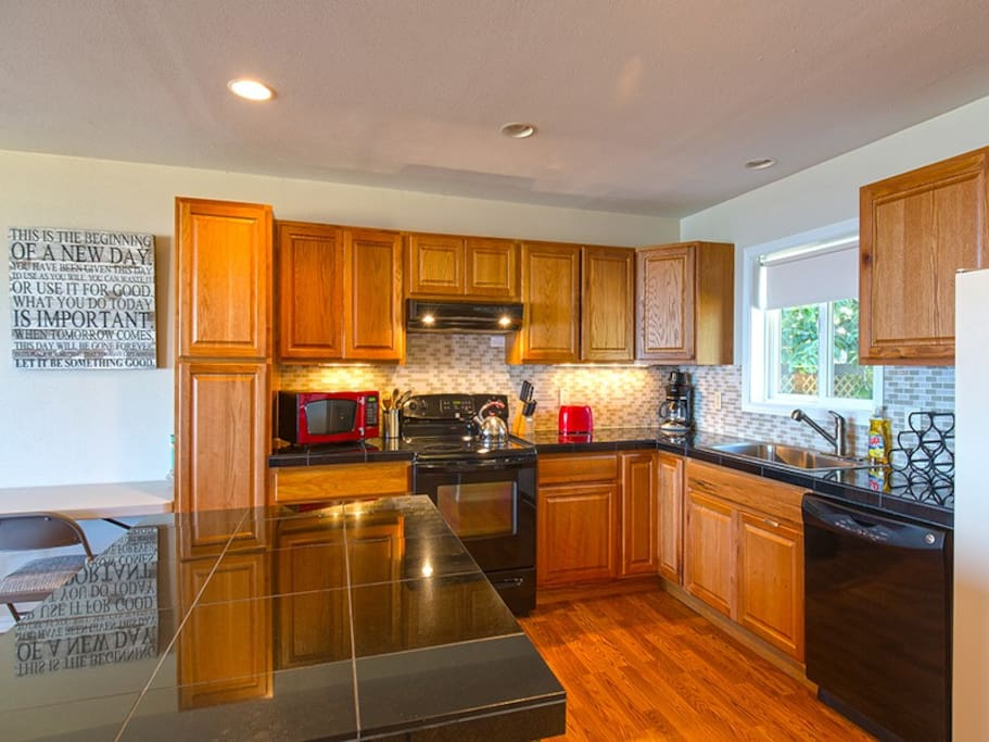 Kitchen to cook family meals in