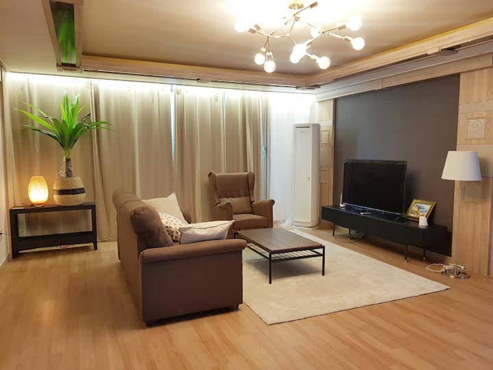 H3[무료픽업,운서역5분]럭셔리하우스,키즈룸,파티룸,4룸3욕실