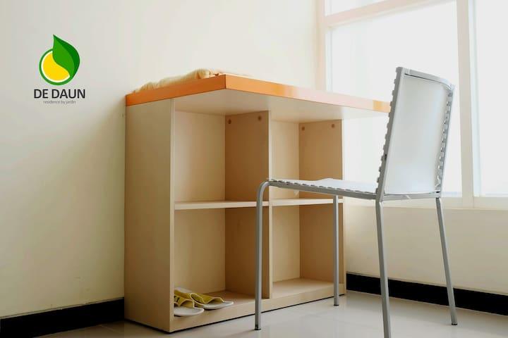Budget Room at Dedaun Smart Residence