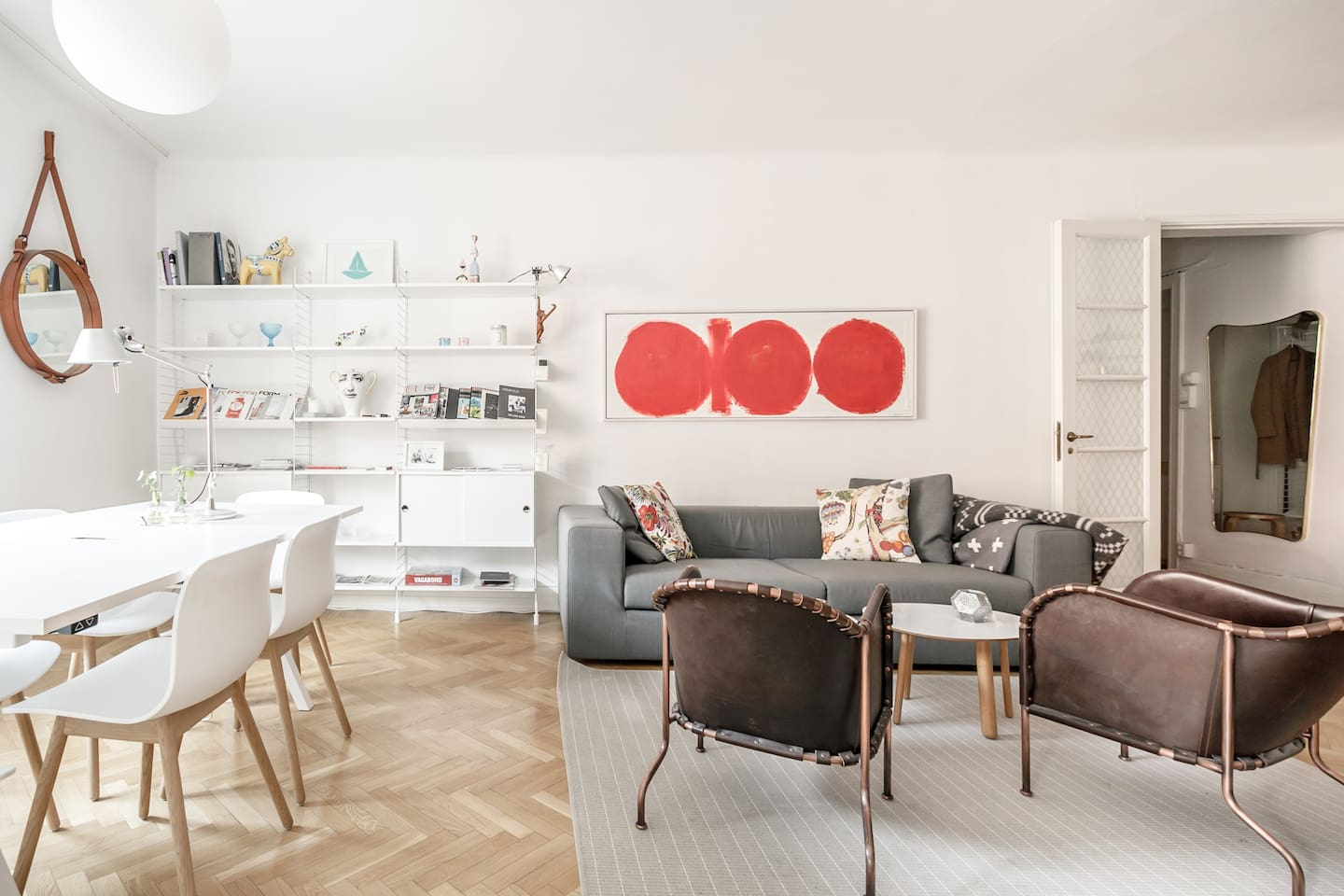 1br design apt in centre of Östermalm apartments for rent in