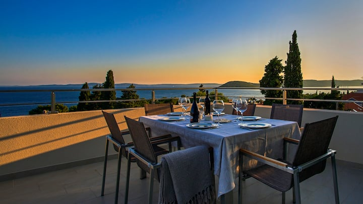 Adriatic Azur Penthouse with panorama seaview