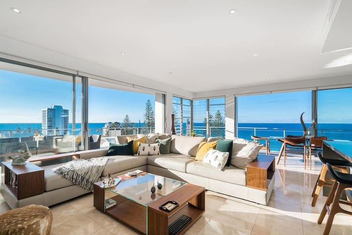 Exclusive sub-penthouse Rainbow Bay with WiFi