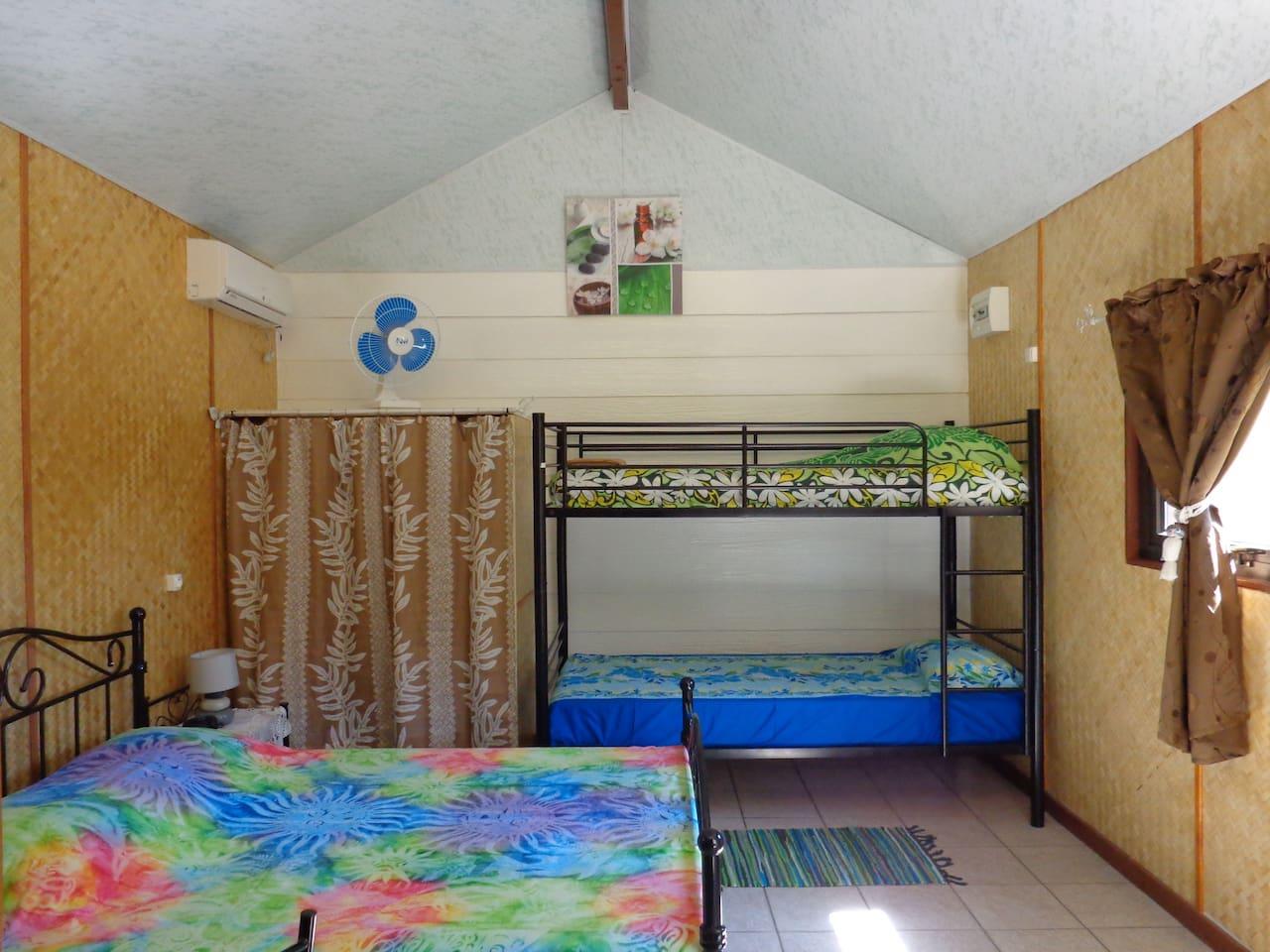 Chambre accueillant   jusqu'à 4 personnes
