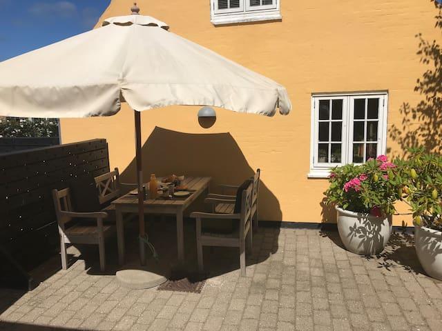 Lille lejlighed centralt i Skagen