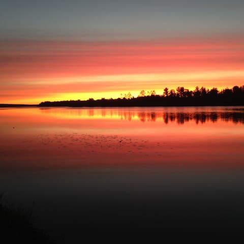 Northern Wisconsin Lake Estate