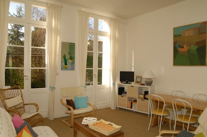 Appartement en rez de jardin plage de Foncillon