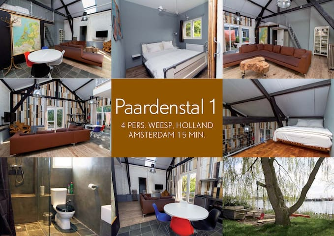 Paardenstal 1 (Complete House, Free Parking, WiFi)